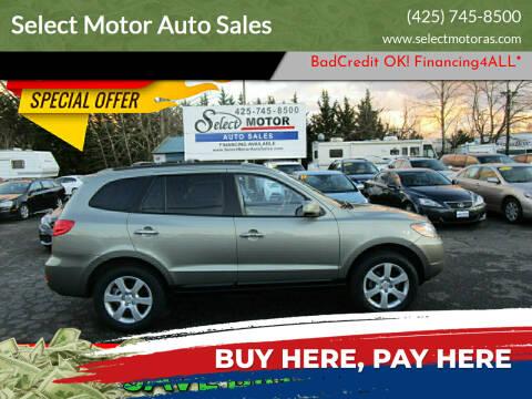 2009 Hyundai Santa Fe for sale at Select Motor Auto Sales in Lynnwood WA