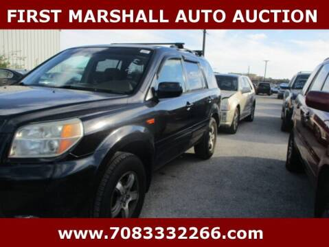 2006 Honda Pilot for sale at First Marshall Auto Auction in Harvey IL