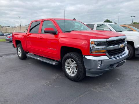 2017 Chevrolet Silverado 1500 for sale at McCully's Automotive - Trucks & SUV's in Benton KY