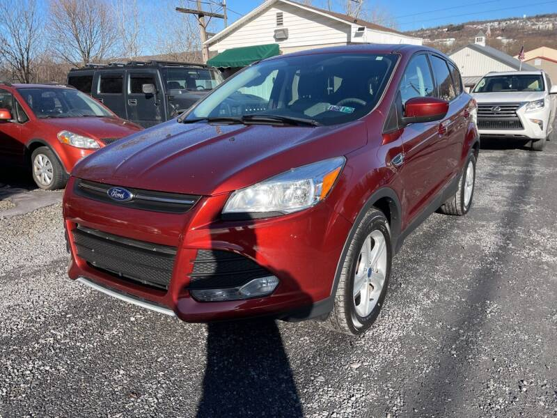 2014 Ford Escape for sale at JM Auto Sales in Shenandoah PA
