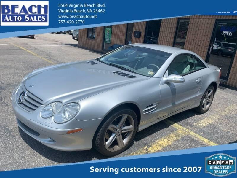 2004 Mercedes-Benz SL-Class for sale at Beach Auto Sales in Virginia Beach VA
