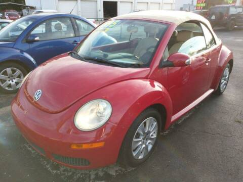 2009 Volkswagen New Beetle Convertible for sale at Tony's Auto Sales in Jacksonville FL