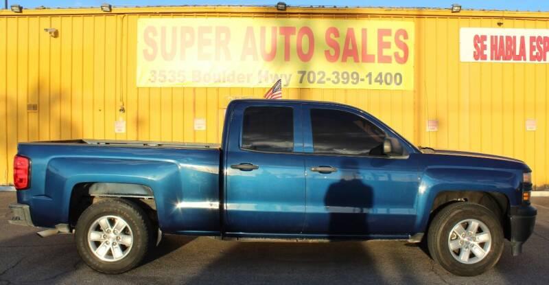 2015 Chevrolet Silverado 1500 for sale at Super Auto Sales in Las Vegas NV