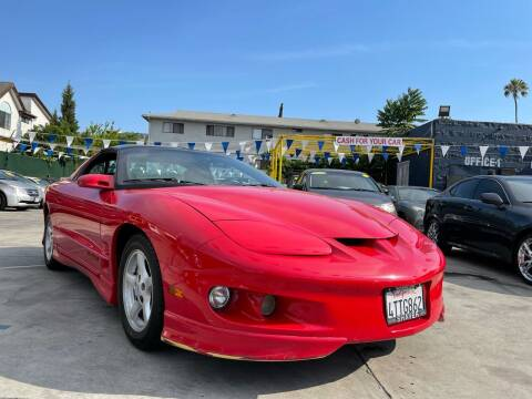 2001 Pontiac Firebird for sale at Good Vibes Auto Sales in North Hollywood CA