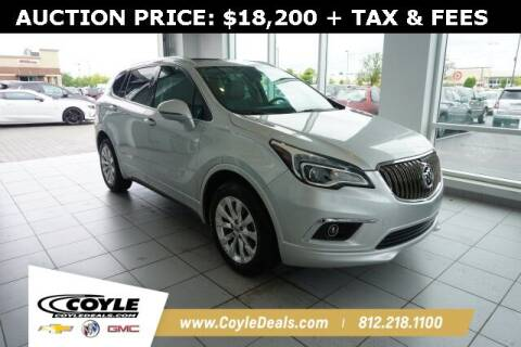 2017 Buick Envision for sale at COYLE GM - COYLE NISSAN in Clarksville IN