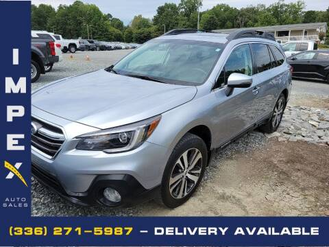 2018 Subaru Outback for sale at Impex Auto Sales in Greensboro NC