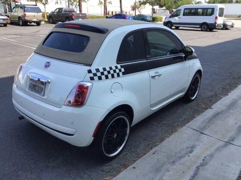 2012 FIAT 500c for sale at Tri City Auto Sales in Whittier CA