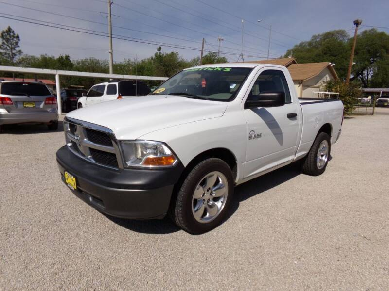 2010 Dodge Ram Pickup 1500 for sale at Bostick's Auto & Truck Sales LLC in Brownwood TX