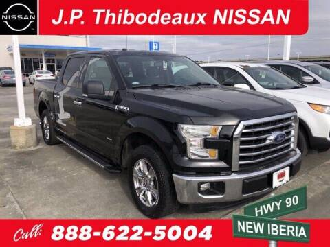 2016 Ford F-150 for sale at J P Thibodeaux Used Cars in New Iberia LA