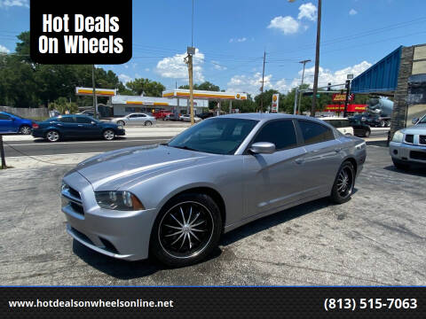 2013 Dodge Charger for sale at Hot Deals On Wheels in Tampa FL