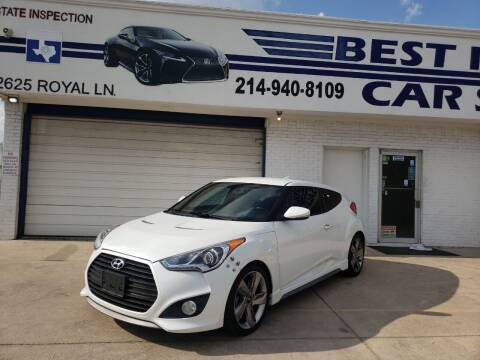 2014 Hyundai Veloster for sale at Best Royal Car Sales in Dallas TX