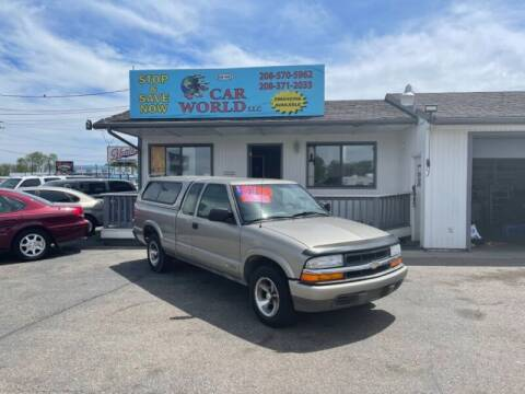 2001 Chevrolet S-10 for sale at CAR WORLD in Nampa ID
