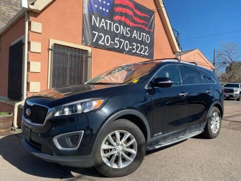 2016 Kia Sorento for sale at Nations Auto Inc. II in Denver CO