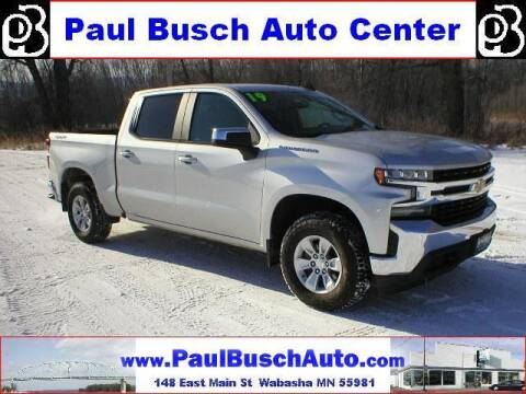 2019 Chevrolet Silverado 1500 for sale at Paul Busch Auto Center Inc in Wabasha MN