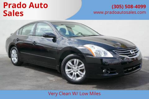 2012 Nissan Altima for sale at Prado Auto Sales in Miami FL