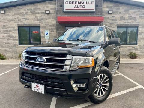 2015 Ford Expedition EL for sale at GREENVILLE AUTO in Greenville WI