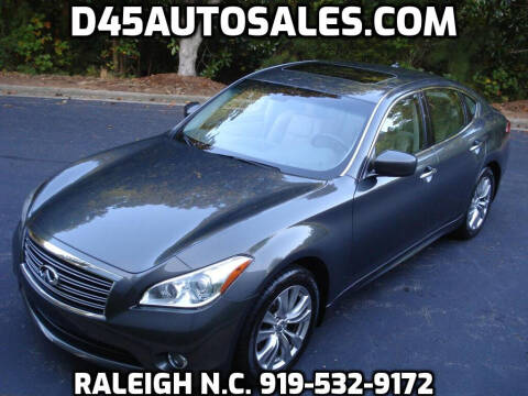 2013 Infiniti M37 for sale at D45 Auto Brokers in Raleigh NC