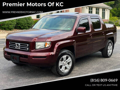 2007 Honda Ridgeline for sale at Premier Motors of KC in Kansas City MO