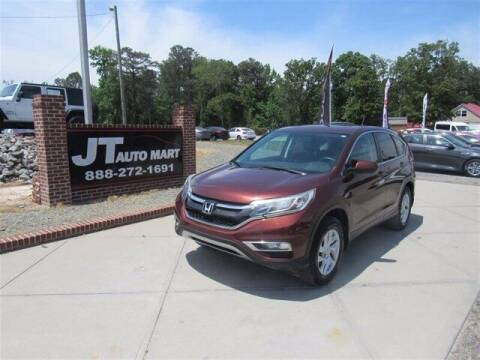 2015 Honda CR-V for sale at J T Auto Group in Sanford NC