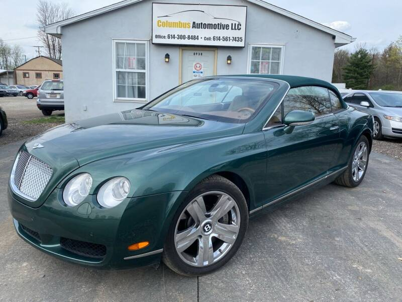 2008 Bentley Continental for sale at COLUMBUS AUTOMOTIVE in Reynoldsburg OH