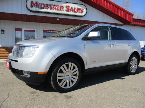 2010 Lincoln MKX for sale at Midstate Sales in Foley MN