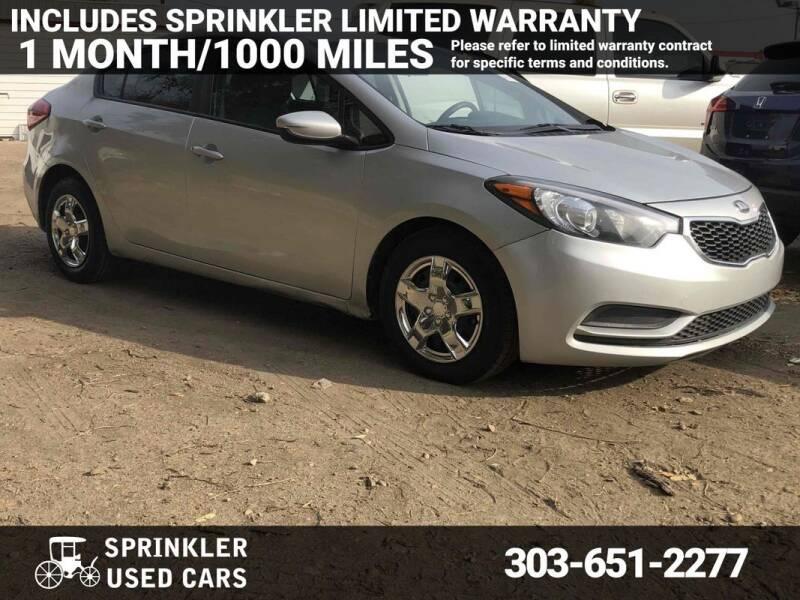 2015 Kia Forte for sale at Sprinkler Used Cars in Longmont CO