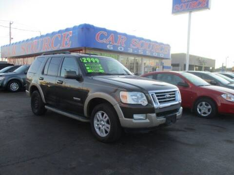 2008 Ford Explorer for sale at CAR SOURCE OKC in Oklahoma City OK