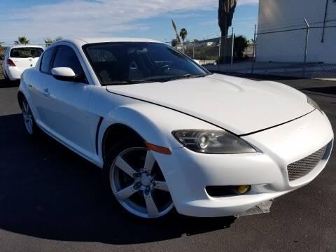 2005 Mazda RX-8 for sale at Trini-D Auto Sales Center in San Diego CA