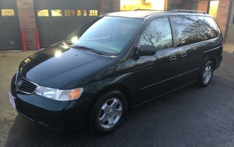 2001 Honda Odyssey for sale at Superior Used Cars Inc in Cuyahoga Falls OH