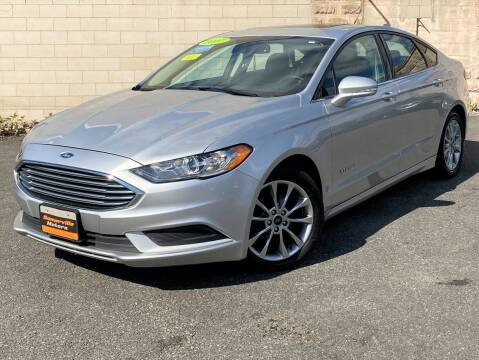 2017 Ford Fusion Hybrid for sale at Somerville Motors in Somerville MA