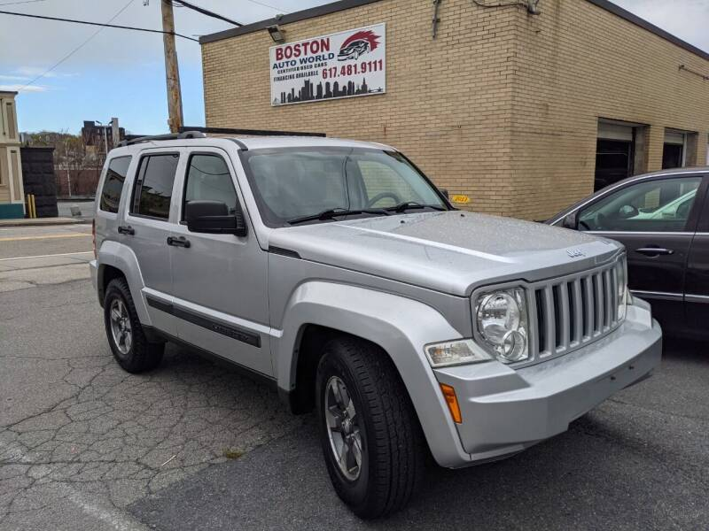 2008 Jeep Liberty for sale at Boston Auto World in Quincy MA