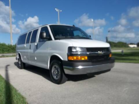 2019 Chevrolet Express Passenger for sale at DELRAY AUTO MALL in Delray Beach FL