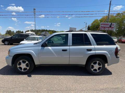 2007 Chevrolet TrailBlazer for sale at Affordable 4 All Auto Sales in Elk River MN