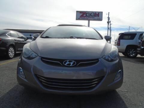 2012 Hyundai Elantra for sale at Zoom Auto Sales in Oklahoma City OK
