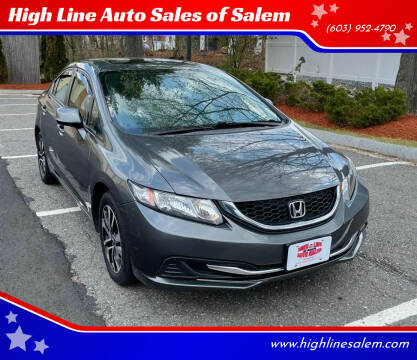 2013 Honda Civic for sale at High Line Auto Sales of Salem in Salem NH