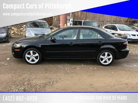 2006 Mazda MAZDA6 for sale at Compact Cars of Pittsburgh in Pittsburgh PA