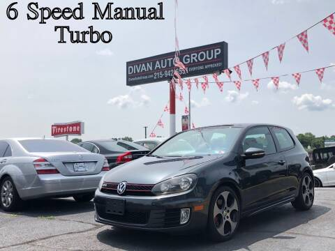 2010 Volkswagen GTI for sale at Divan Auto Group in Feasterville PA