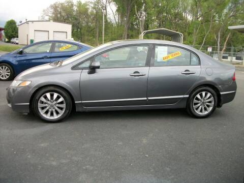 2010 Honda Civic for sale at Lentz's Auto Sales in Albemarle NC
