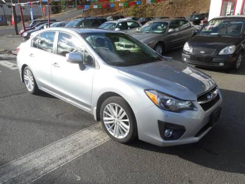 2013 Subaru Impreza for sale at Ricciardi Auto Sales in Waterbury CT