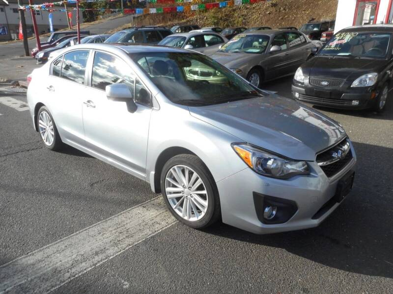 2013 Subaru Impreza for sale at Ricciardi Auto Sales in Waterbury CT