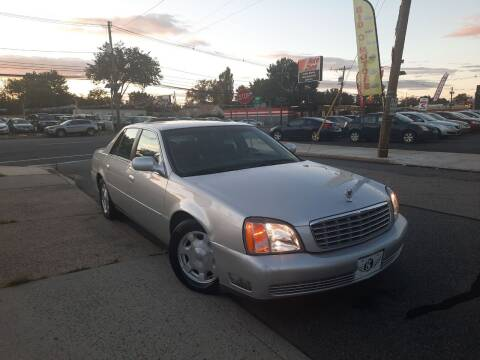 2002 Cadillac DeVille for sale at K & S Motors Corp in Linden NJ
