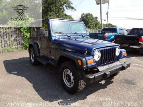 2000 Jeep Wrangler for sale at Hyway Auto Sales in Lumberton NJ