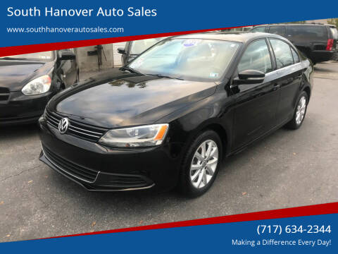 2013 Volkswagen Jetta for sale at South Hanover Auto Sales in Hanover PA