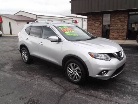 2015 Nissan Rogue for sale at Dietsch Sales & Svc Inc in Edgerton OH