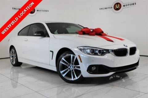2015 BMW 4 Series for sale at INDY'S UNLIMITED MOTORS - UNLIMITED MOTORS in Westfield IN
