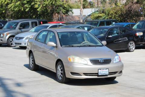 2006 Toyota Corolla for sale at Car 1234 inc in El Cajon CA