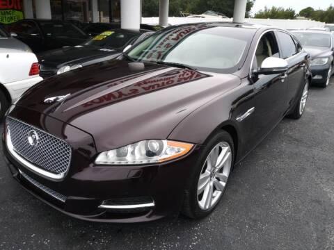 2011 Jaguar XJL for sale at Tony's Auto Sales in Jacksonville FL