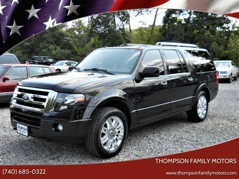 2014 Ford Expedition EL for sale at THOMPSON FAMILY MOTORS in Senecaville OH