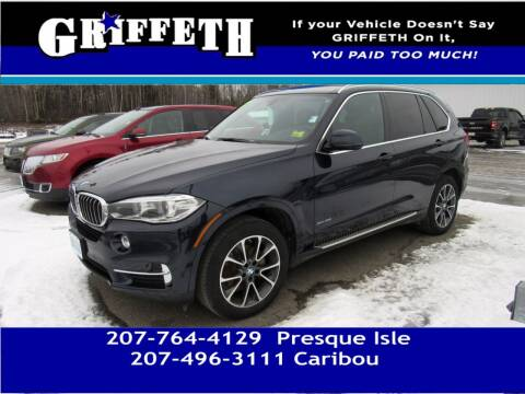 2017 BMW X5 for sale at Griffeth Mitsubishi - Pre-owned in Caribou ME