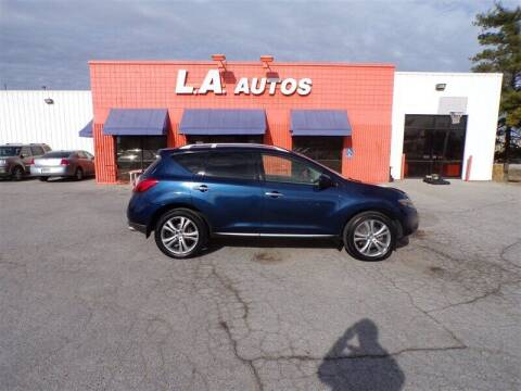 2009 Nissan Murano for sale at L A AUTOS in Omaha NE